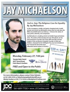 God Vs Gay The Religious Case For Equality Palm Beach
